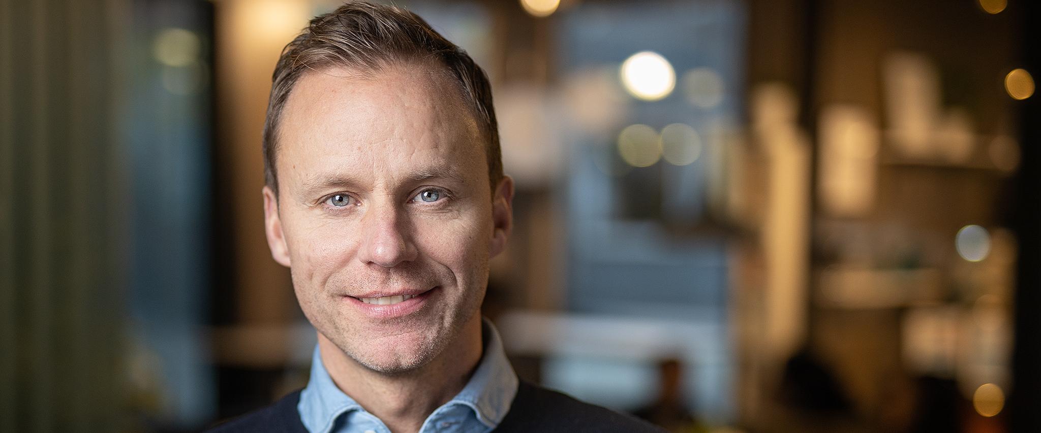 Porträtt av Alexander, Generalsekreterare KFUM Sverige