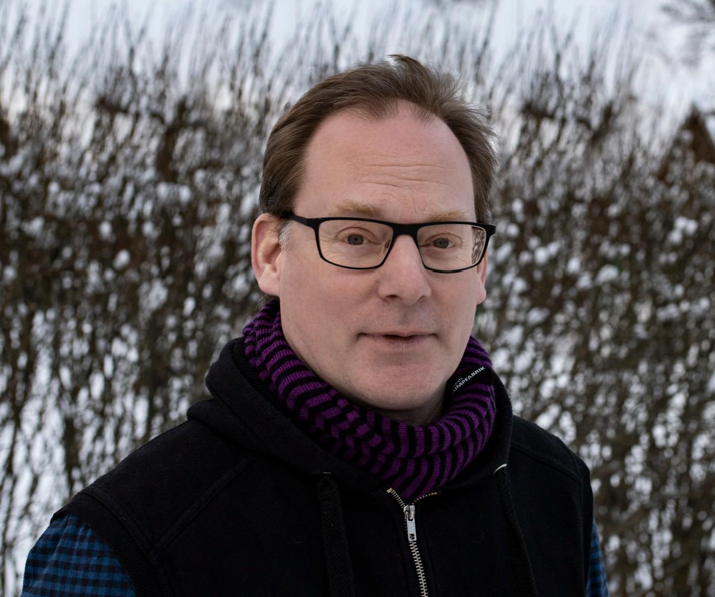 Porträtt av Mats Olsén, Årets William 2020