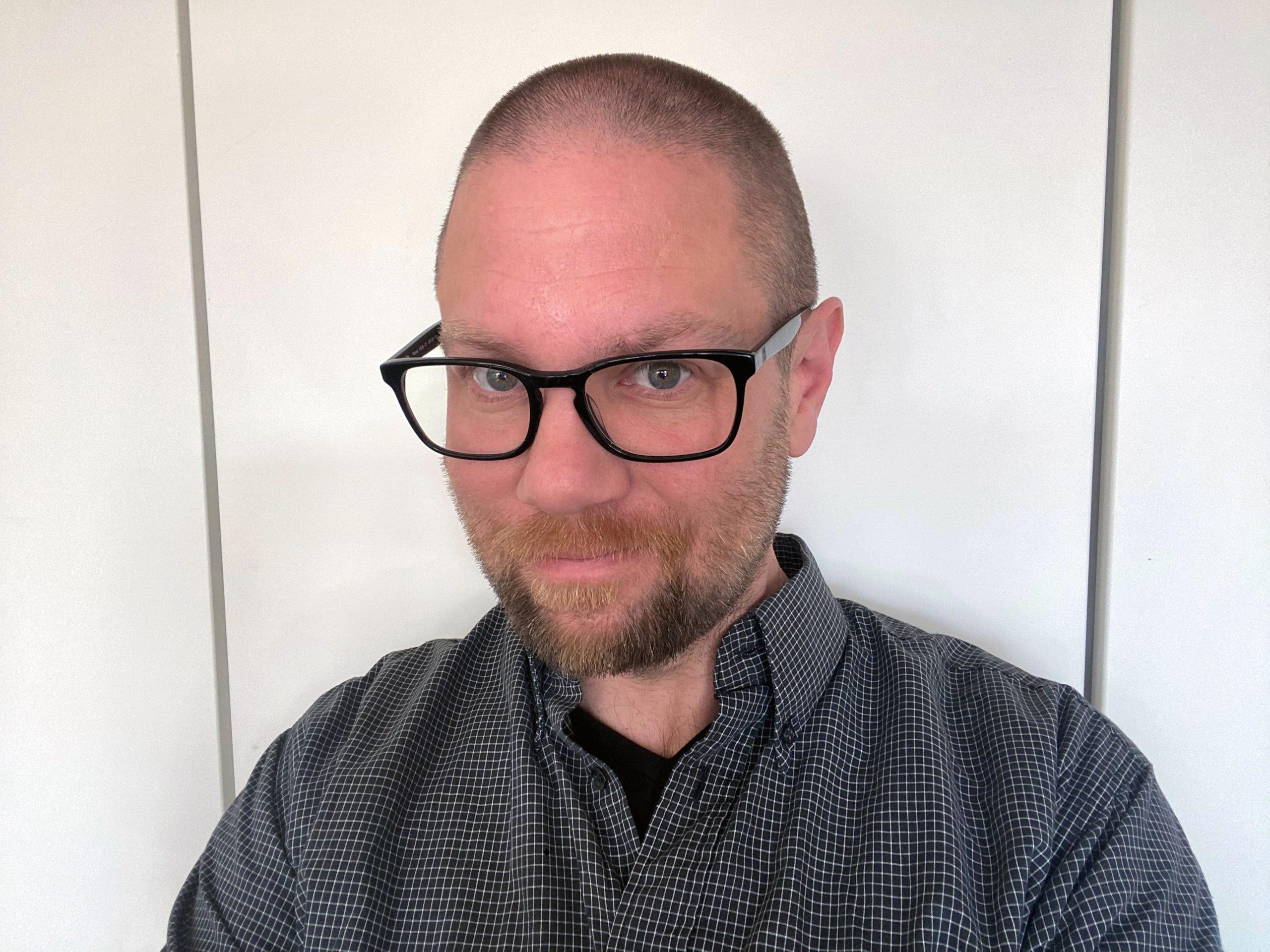 KFUMs Sveriges insamlingsansvarig Daniel Holking