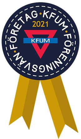 Sigill för föreningsvän företag nivå guld hos KFUM