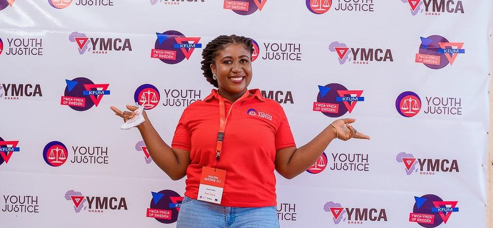 Francisca Ohenewaa arbetar med KFUM Sveriges projekt Youth Justice